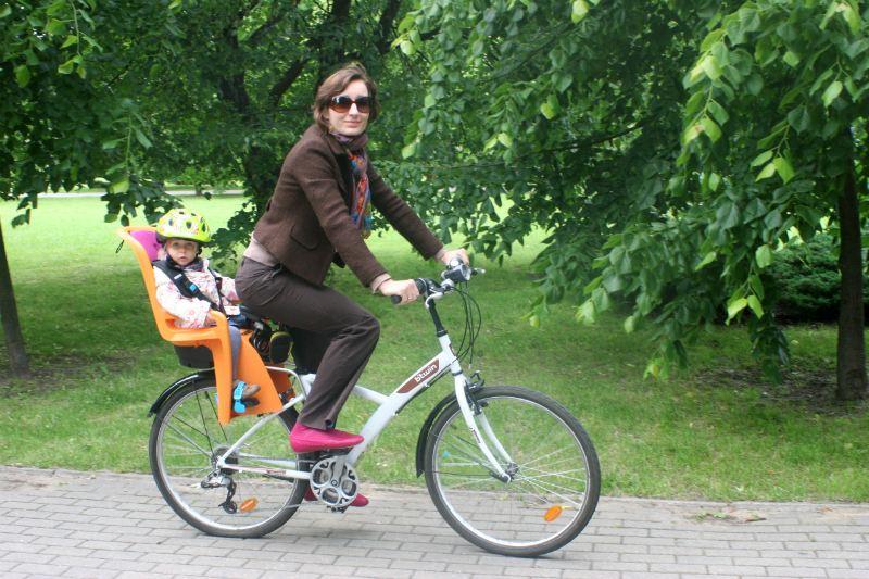 Fotelik rowerowy Thule RideAlong