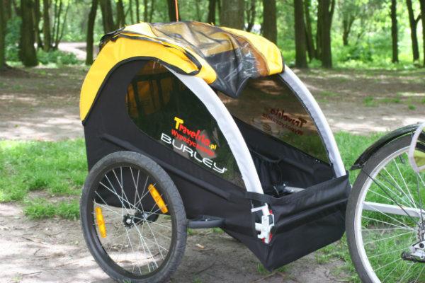 Przyczepka rowerowa Burley Bee.