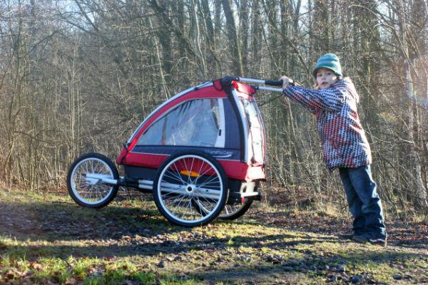 Zestaw joggerowy do przyczepki Nordic Cab Explorer.