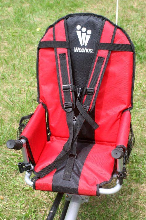 Weehoo i-Go - siedzenie dla dziecka.